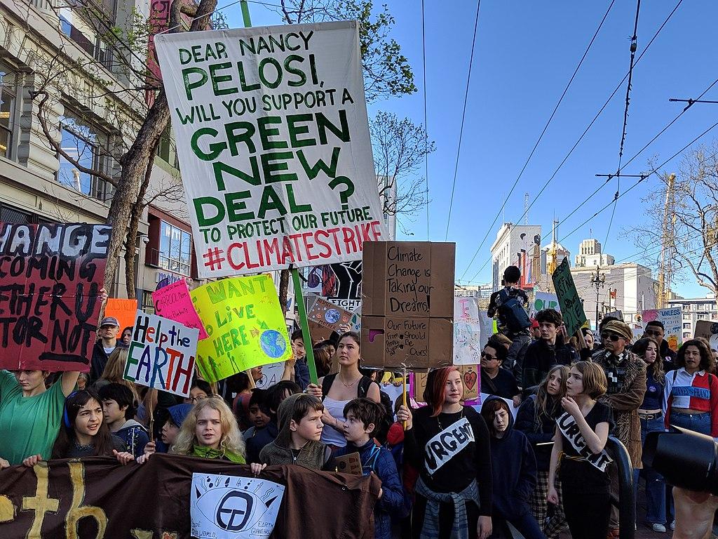 Pensée environnementale : Le Green New Deal